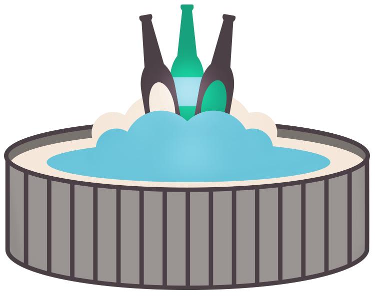 dangers-alcohol-hot-tub