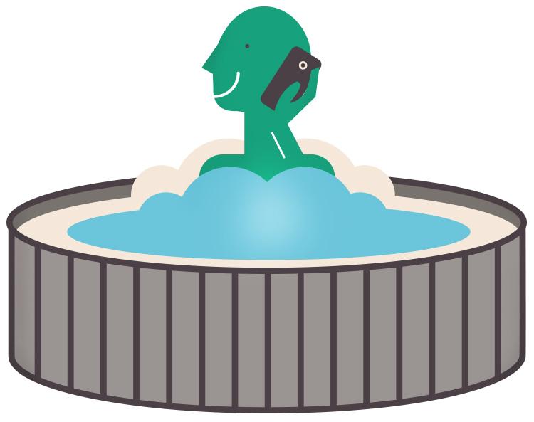 dangers-mobile-phone-hot-tub